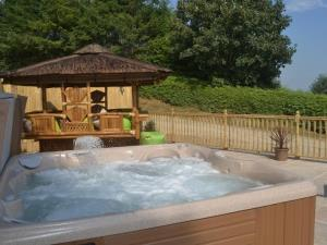 Hot Tub and Heated Gazebo
