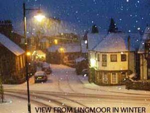 Lingmoor Guesthouse in Winter