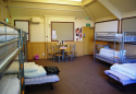 Dormitory bunk room with 16 bed spaces