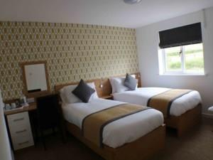 Bedroom at Llangeview