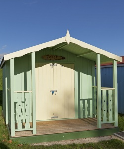 Beach Hut in Promenade Park