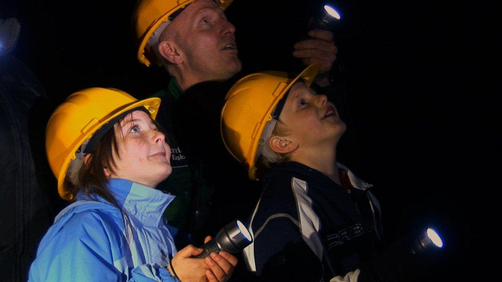 Exploring with Corris Mine Explorers