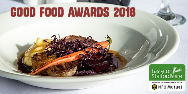 Join us in 1907 Suite at Uttoxeter Racecourse for Taste of Staffordshire Good Food Awards 2018