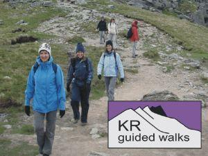 Haystacks with KR Guided Walks