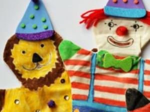 Make Circus Themed Hand Puppets With ARTventurers