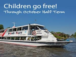 October Half- Term, Children Go FREE!
