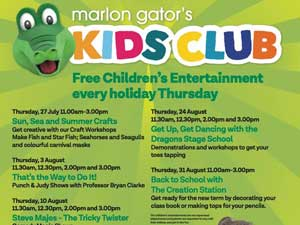Marlon Gator's Kids Club