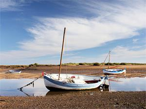 Sailing at Burnham Overy