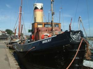 The Steam Tug Brent