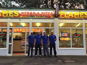 The friendly Flames Kebab Team