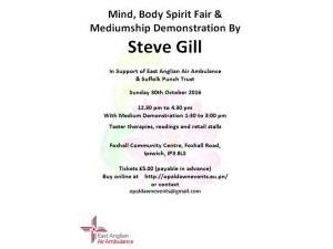 Demonstration of Mediumship by Steve Gill