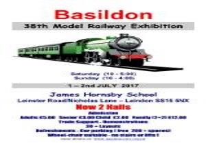 Basildon 38th Model Railway Exhibition