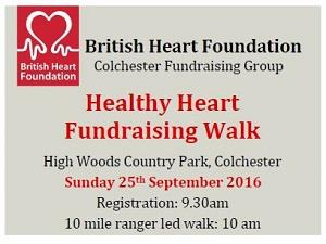 British Heart Foundation Sponsored Walk