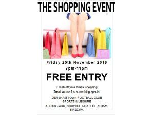 The Shopping Event at Aldiss Park