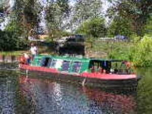 Hop on a one hour boat trip at Paper Mill Lock