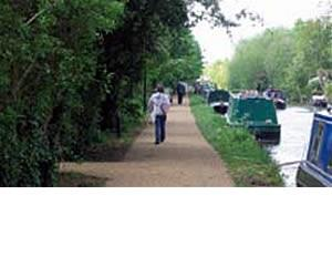 The Grand Union Canal Cycle Route