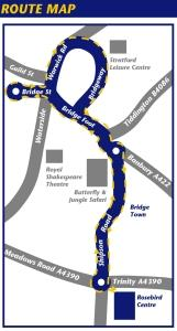 Southern Park & Ride Route Map