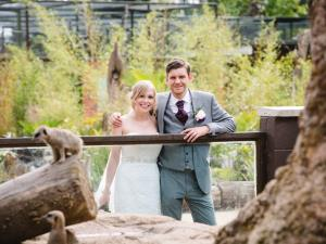 Weddings at Twycross Zoo