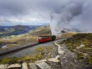 Snowdon Mountain Railway new Heritage Carriage