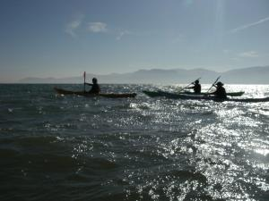 Kayaking and sea kayaking courses