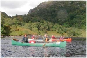 Canoeing at Plas Menai