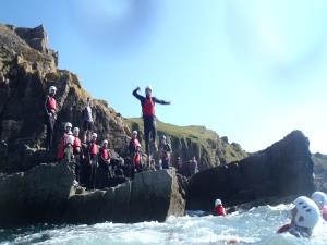 Best Coasteering On Gower Peninsula!
