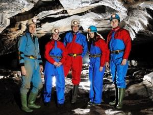 Caving with Hawk Adventures