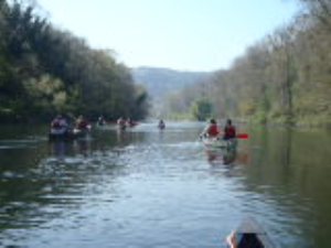 Guided Open Canoeing on the River Wye