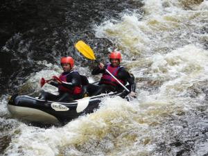 Whitewater rafting at National White Water Centre