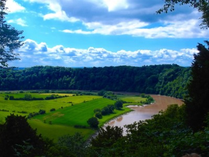 View from Eagles Nest Wye Valley Woodlands