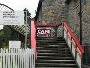 Access to Railway Museum and Cafe