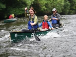 Guided Canoe Trip on the Teifi