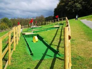 Mini Golf at Llandegfedd Reservoir