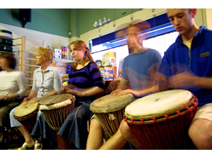Knock on Wood African Drum Class