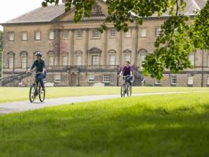 Cycling at Nostell