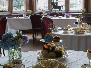 Mothers Day Tea in the Castle
