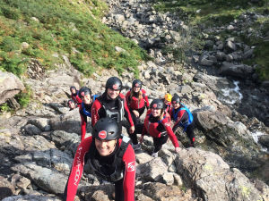 Gorge Scrambling Lake District total Adventure