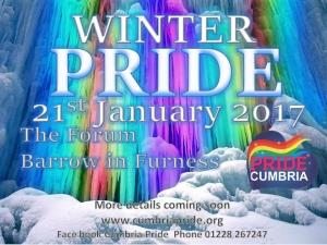 Cumbria Pride presents Winter Pride