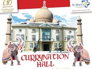 Currynation Hall for St Mary's Hospice