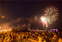 Fireworks Display on Central Beach
