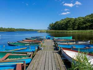 Rowing Boats at Filby Broad