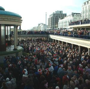 Boxing Day at the Bandstand