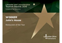 Winner - Restaurant of the Year