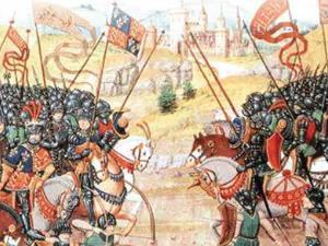 Horses at the Battle of Agincourt