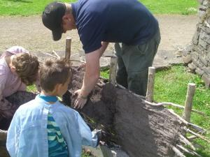 Bronze Age Day at Caldicot Castle