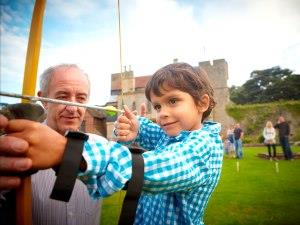 Have a go at archery