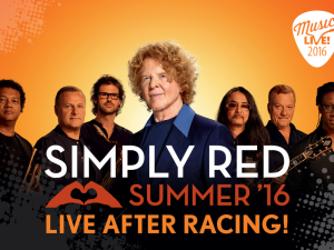 Simply Red at Chepstow Racecourse