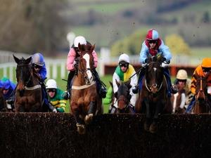 Jump Racing at Chepstow Racecourse