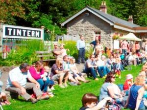 Audience at the Old Station Tintern