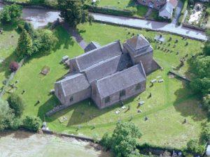 St Bridget's from the air